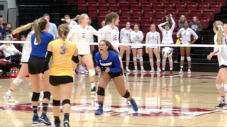 CSUB volleyball swept out of NCAA Tourney