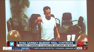 How Garibay killed his wife in his own words