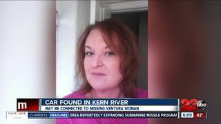 Vehicle found possibly related to missing person