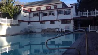 Hidden hot springs resort near Bakersfield