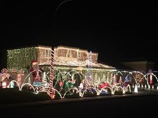Best Christmas lights around Kern County