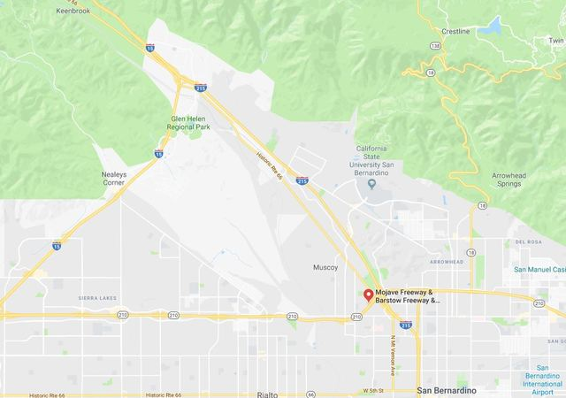 Little Mountain area fire in San Bernardino now 100 acres, 0% contained