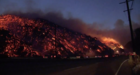Skirball Fire continues to burn in Los Angeles