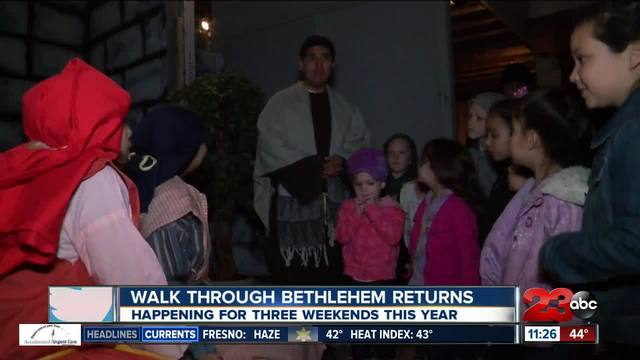Bethlehem Walk Through