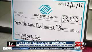 Boys and Girls Club receives $3500 donation