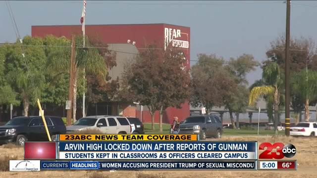 Breakdown of Arvin High School lockdown timeline