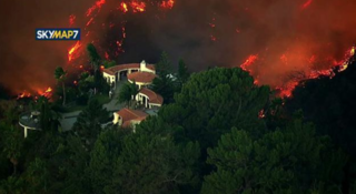 Skirball Fire caused by illegal cooking fire