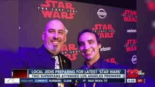 Local Star Wars fans prepare for movie premiere