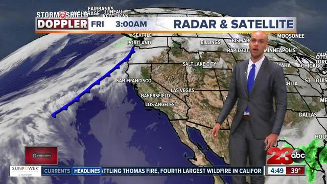 Friday Morning Weather Update 12-15-17