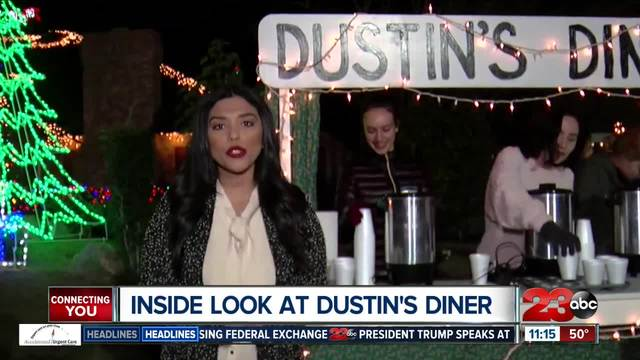 Dustin-s Diner is open for the holiday season