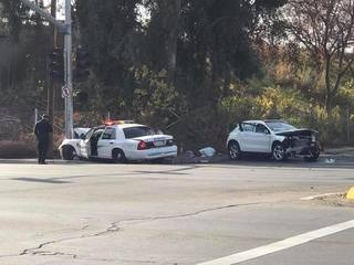 Deputy involved in crash near Union & Niles
