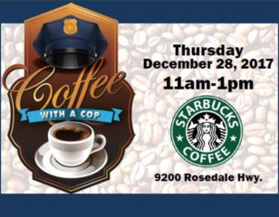 BPD hosts coffee with a cop