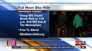 Bike Bakersfield hosts full moon ride