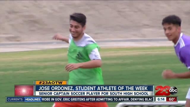 Male Athlete of the Week- Jose Ordo-ez