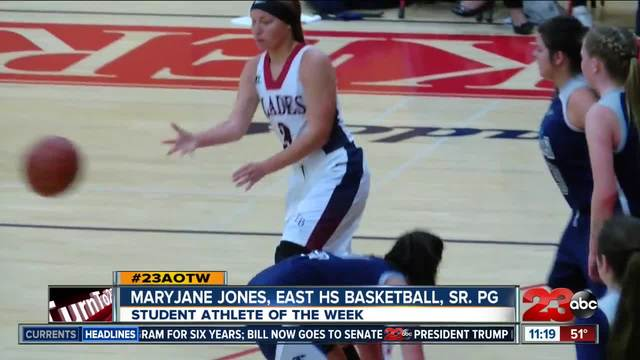Female Athlete of the Week- MaryJane Jones