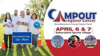 Kick-Off to Campout Against Cancer event