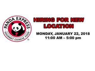 Panda Express hosts employee recruitment