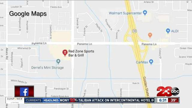 Shooting at Red Zone Sports Bar -amp- Grill in Southwest Bakersfield