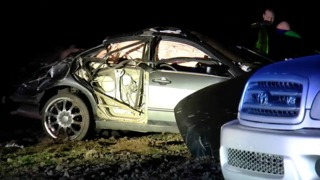 CHP at scene of crash near Browning Rd & Elmo