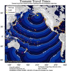 7.9 quake hits off Alaska