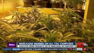Marijuana not allowed on CSU campuses