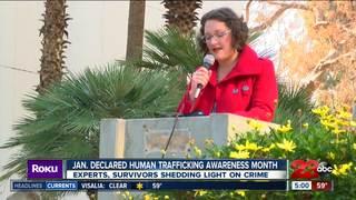 Jan. declared Human Trafficking Awareness Month