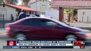 Board of Supervisors discuss pedestrian deaths