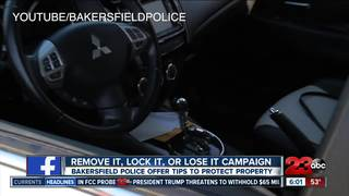 6,400 Bakersfield cars targeted in thefts in '16