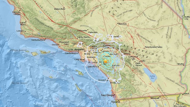 4.0 natural disaster rattles Southern California Thursday morning
