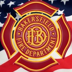 Crews battle fire in East Bakersfield