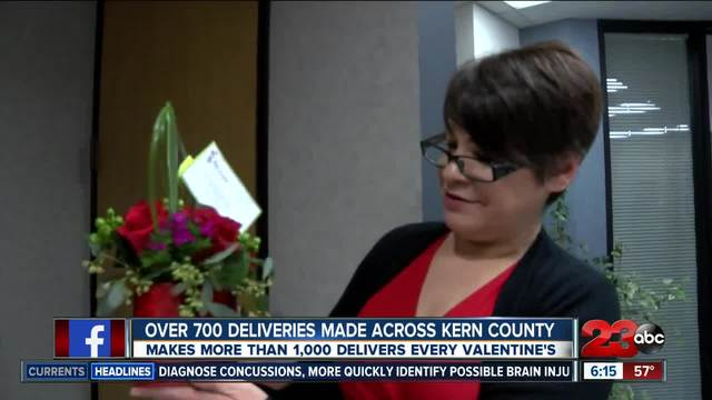 Log Cabin Florist Deliver Over 1,000 Valentineu0027s Day Gifts To Community