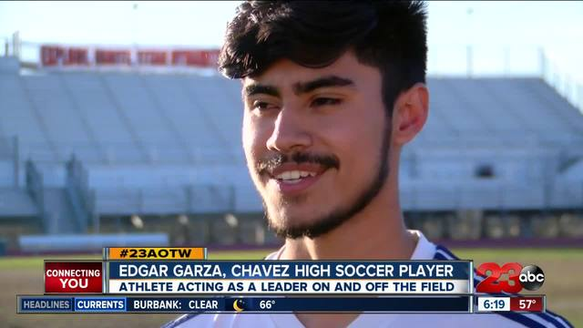 Edgar Garza steps into leadership role on and off the pitch to help…