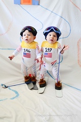 Rosamond twins pose as Olympians for Instagram