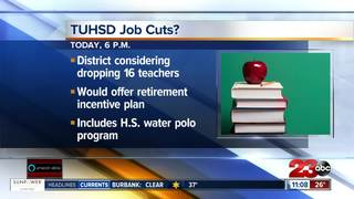 Taft Union HS District to vote on job cuts