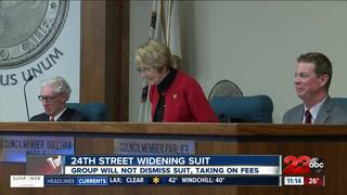 Group against 24th St Widening continue suit