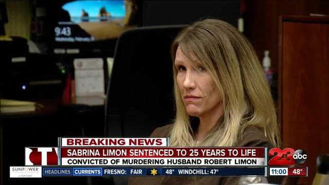 Sabrina Limon sentenced to 25 years to life in prison for her role in…