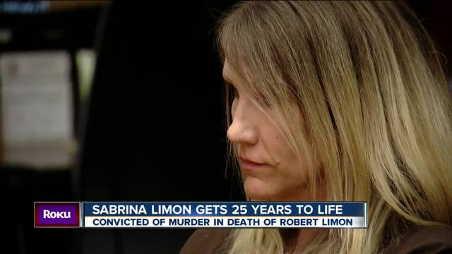 Sabrina Limon gets 25 years to life in prison