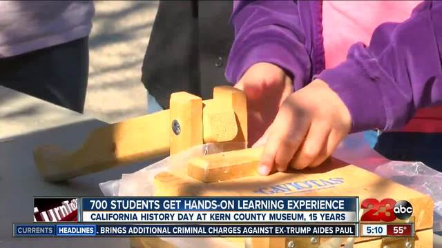 Kern County Museum hosted California History Day for third and fourth graders