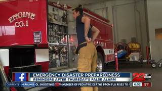 False alarm spurs emergency preparedness