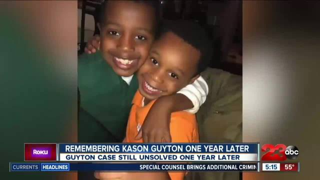 Remembering 5-year-old Kason Guyton- One Year after his death-