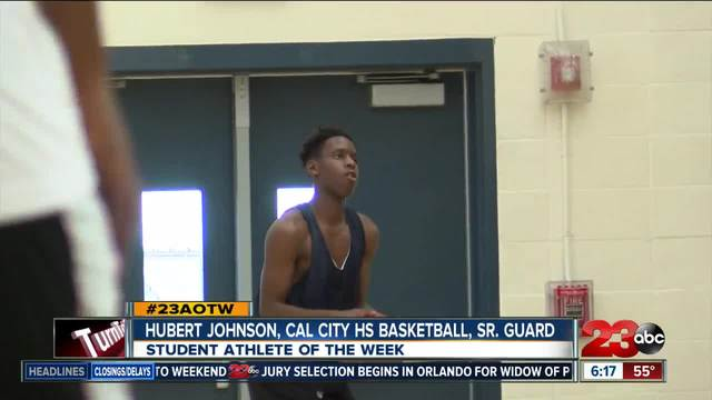 Male Athlete of the Week- Hubert Johnson