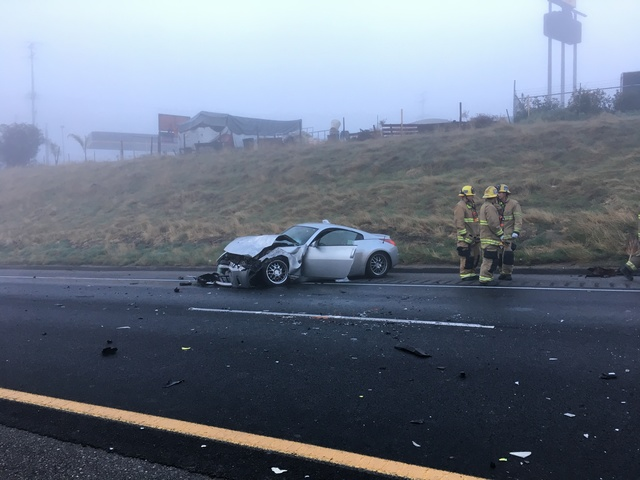 CHP investigating a head-on collision on southbound 99