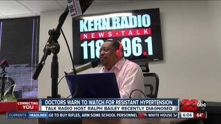 Radio host and doctors warn of 'silent killer'