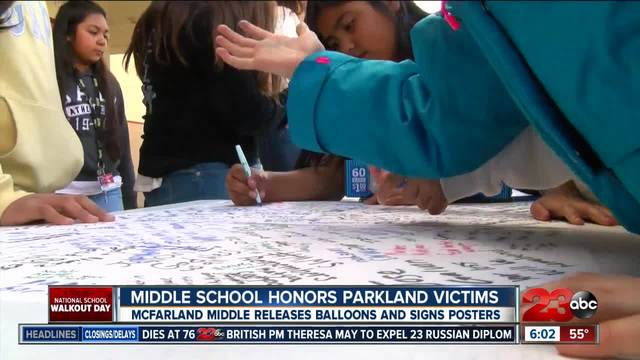 McFarland Middle School holding an alternative to national school…