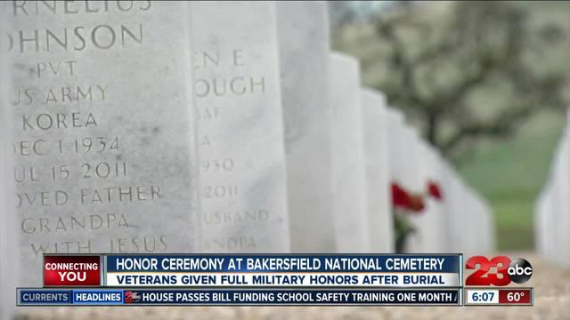 Dozens gather to honor unaccompanied veterans