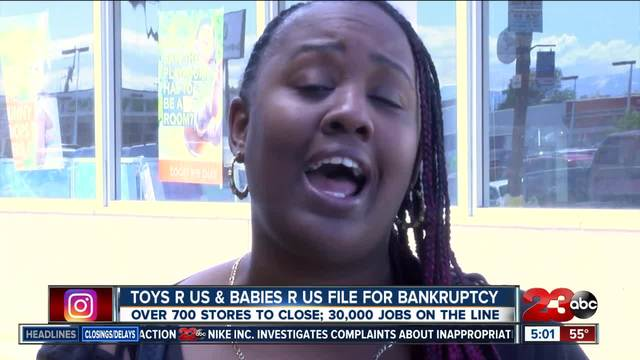 All Toys R Us -amp- Babies R Us close in Kern County
