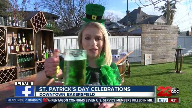Where to celebrate St- Patrick-s Day in Kern County