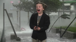 Most epic weather report from a kindergartner