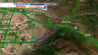 Hwy. 223 at Hwy. 58 reopens after mudslide