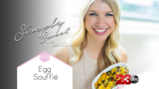 Learn to make egg souffle this week!